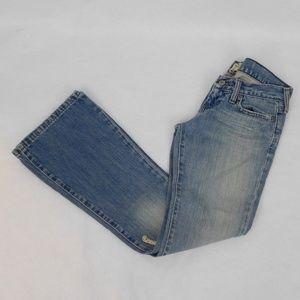 "A&F Distressed Denim Jeans Size 00 x 29""Inseam"